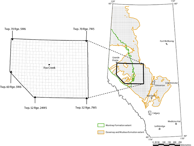 Highlights REP 100 - Hydrogeological Mapping in West-Central Alberta