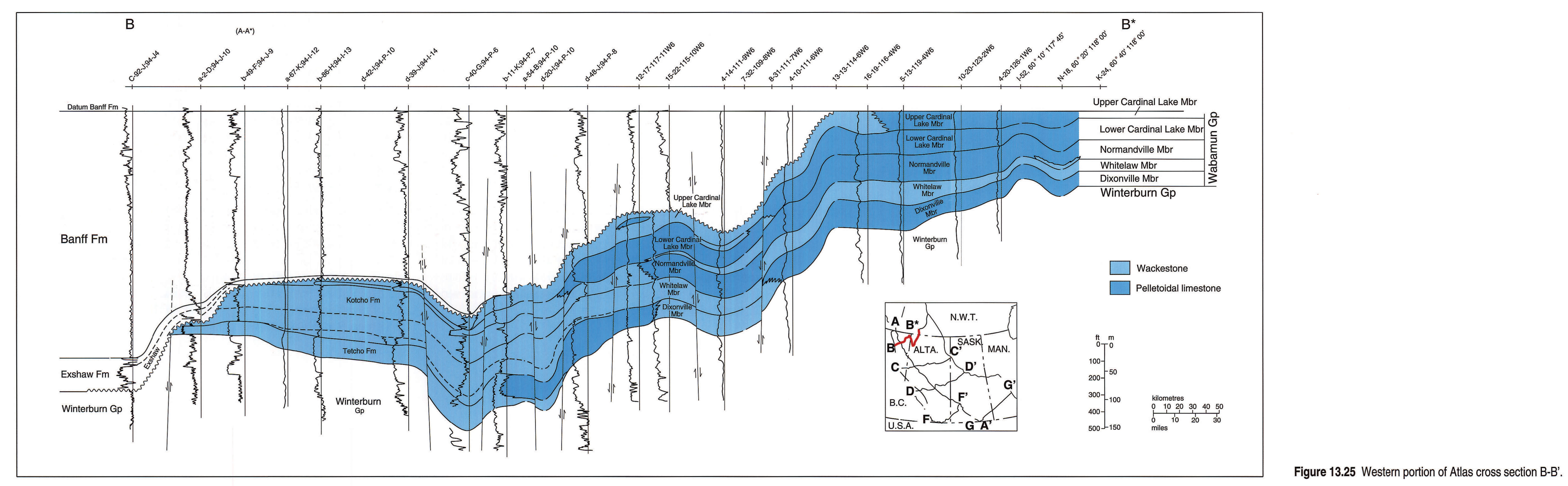 Chapter 13 Devonian Wabamun Group Here Is The Final Schematic Somewhat Simplified 1325